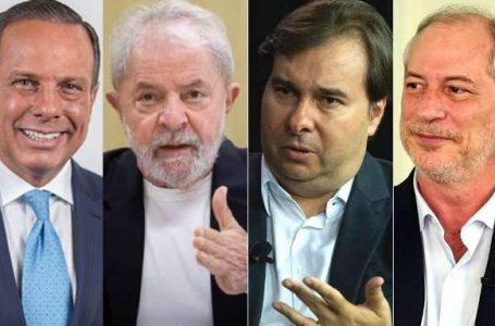 """A """"resistência"""" contra Jair, em busca da """"salvação"""" em 2022."""