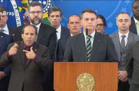 Moro pediu indicação ao STF diz Bolsonaro