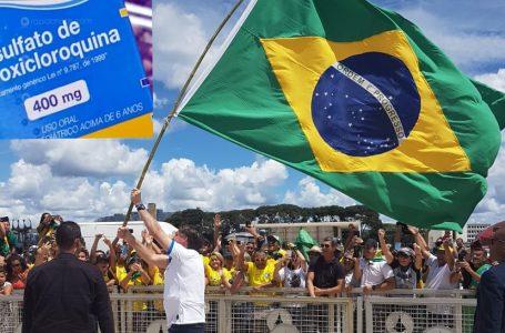 Bolsonaro vai salvar o país usando a hidroxicloroquina
