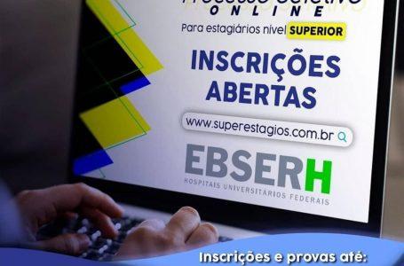 Super Estágios abre seleção de estagiários para Ebserh