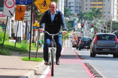 Quase 8 quilômetros de ciclofaixas são revitalizados em Águas Claras